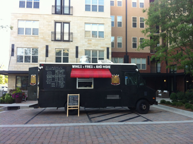Wing King Food Truck For Sale